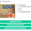 信用卡信息生成